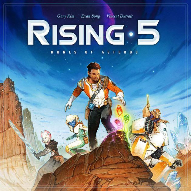 Rising 5: Runes of Asteros by Grey Fox Games