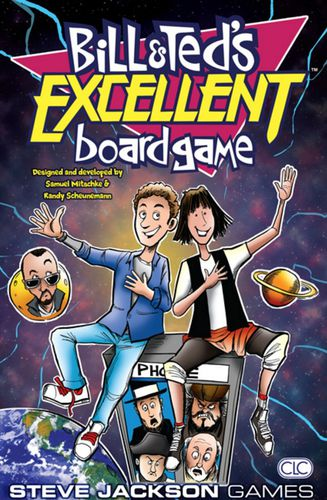 Bill and Ted's Excellent Board Game by Steve Jackson Games