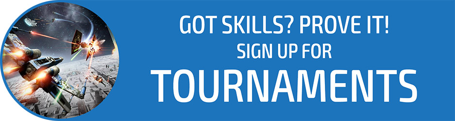 Got skills?  Prove it!  Sign up for tournaments at LFG 2018